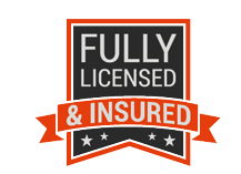 A+ Rating with the Better Business Bureau and Fullly Licensed and Insured